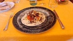 Capesante sgusciate in crema di zafferano e tartufo