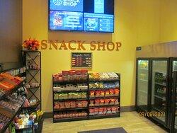 Snack shop.
