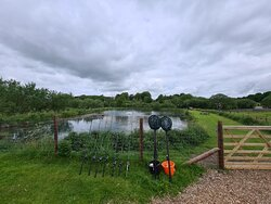 1.5 acres (20 pegs) spring fed well stocked mature fishing lake with mountain views for you to enjoy in The Lake District and Yorkshire Dales National Park.