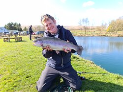 Tuition available. Stocked with a variety of fish to double figures.