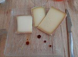 portions de fromages