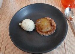 dessert tartelette aux poires