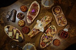Small plates and sharing boards