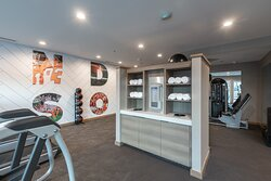 Clemson Themed Fitness Center