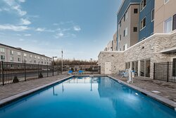Large Outdoor Pool Area