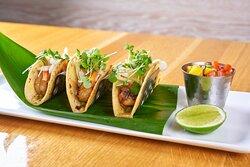 Blackened Rock Shrimp Tacos