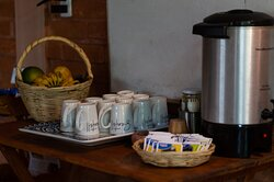 Tea station - herbal tea available all day long
