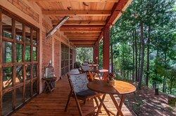 main terrace - outdoor dining area