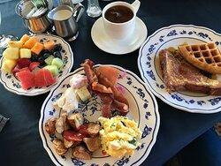 Breakfast Buffet in the Lodge