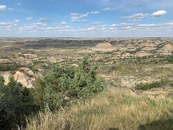 Great view of the Painted Canyon
