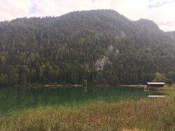 Bootshaus am nahen See