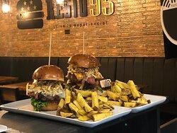 Espectaculares hamburguesas!