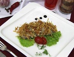 Основное меню. Салат с картофелем пай.
