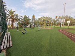 """The so called """"fitness"""" area."""