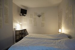 Unieke kamer ingericht door schrijver Joris Denoo
