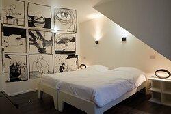 Unieke kamer ingericht door stripkunstenaar Ruben Accou