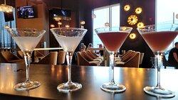 Martinis for four