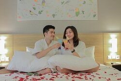 Its Honeymoon Package, only available at our official website at www.aviaryhotel.com