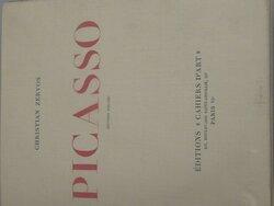 couverture du livre (1926) de Christian ZERVOS consacré à Picasso (exemplaire n°645)