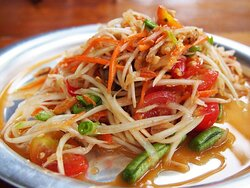 Som Tam Salad the best in town
