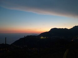 grandiose Abendstimmung. Wenn auf Capri die Sonne... usw.