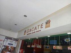entrance of Itacate restaurant puerto moerlos off highway