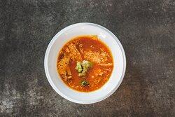 Chicken Tortilla Soup with Avocado