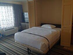 living area- 2nd bed- queen Murphy bed