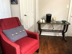 Coffee and Tea service in South Wing TV room