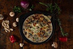 Festival de Champiñones y setas, shitake, orellanas, portobellos y los tradicionales champiñones con queso mozarella y azul