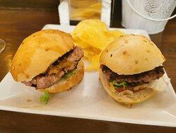 Tapa de hamburguesa