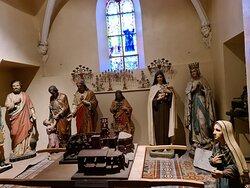 Statues exposées