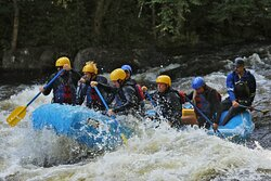 Plenty of class 3 and 4 rapids to keep you busy and focused