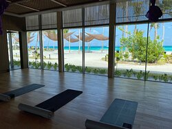 Yoga Room with a view