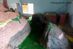 Details about time cycle & Fossils Presentation inside the Fossil Museum ,    Dino Adventure Park and fossils museum , Dhar-Mandav Rd, Mandu , M.P., India
