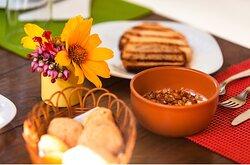 Café da manhã: tudo fresquinho e delicioso!