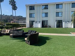 Very clean and comfortable outside furniture
