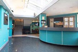 Hotel Reception and Lobby