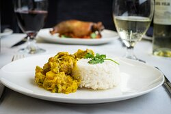 Butternut Squash and Coconut Curry - Main