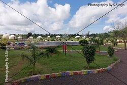 The park& garden area,  Dino Adventure Park and fossils museum , Dhar-Mandav Rd, Mandu , M.P., India