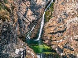 Transfers to Savica Waterfall and Lake Bohinj.