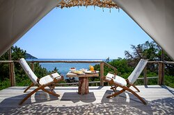 Ammothines provide many facilities such as  Restaurant, Beach bar, Glamping customized in the natural environment.