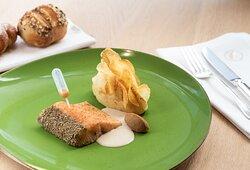 La cuisine du Chef Jean-Paul Acker - La Cheneaudière***** & Spa