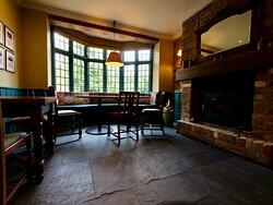 Welcoming log burners and cosy seating areas