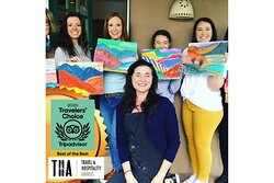 Honored! Nominated: Travel & Hospitality Award 2021! Grateful you LOVE our Art Classes, too! xoRobbi