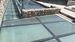 Glass floors in Kula Tower