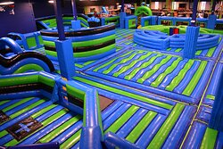 12000 Sqft. of pure Fun, the biggest Airpark in South Florida, what are you waiting to come and try it out!