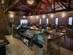 Operating as a restaurant in the newly renovated banquet hall until COVID-19 distancing restrictions lift.