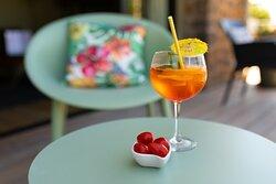 Service cocktails en terrasse