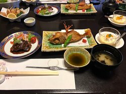 豪華でおいしい食事でした